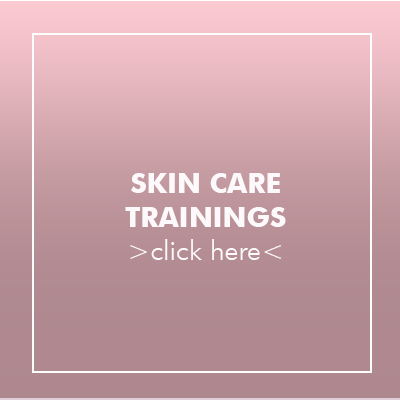 to the skin care trainings