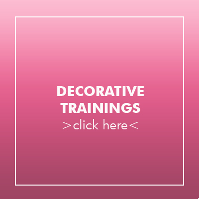 to the decorative trainings