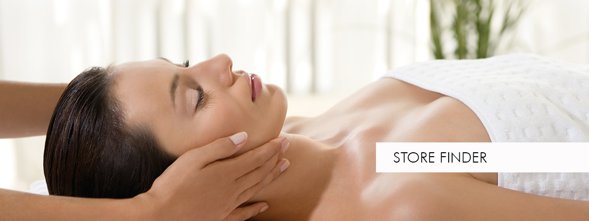 young woman in a skin care treatment