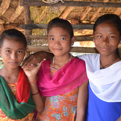 girls in Nepal